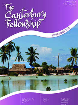 the canterbury fellowship newsletter